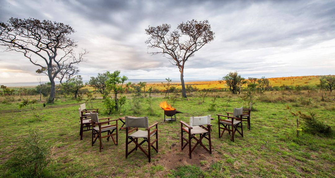 Serengeti Acacia Camp Acacia Migration Camp Bonfire