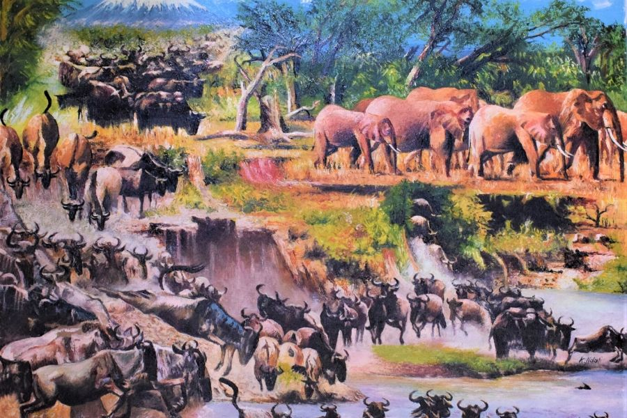 Tingatinga African Art of the Great Migration. Why Visiting Serengeti Should be on your Bucket List. Serengeti Acacia Camps